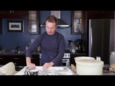 How to make baguettes at home ( without a special pan)