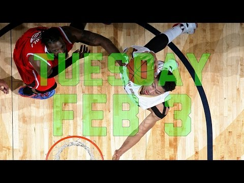 NBA Daily Show: Feb. 3 – The Starters