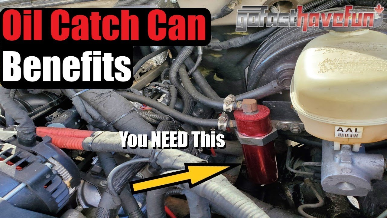 oil catch can  benefits explained