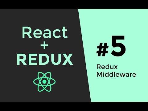 Redux Middleware Tutorial - Redux Tutorial #5