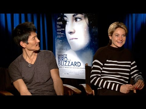 WHITE BIRD IN A BLIZZARD Interviews: Shailene Woodley, Christopher Meloni and director Gregg Araki