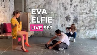 Eva Elfie Showing Classic Matte Pantyhose from Japan - Art Nylon Magazine - LIVE STREAM