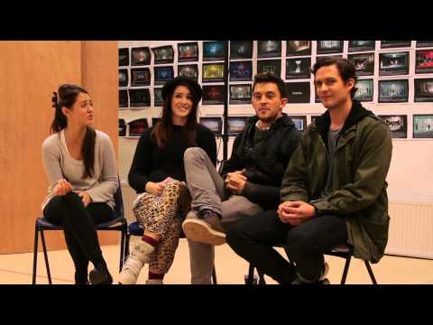 Cast in Rehearsals | American Psycho | Almeida Theatre