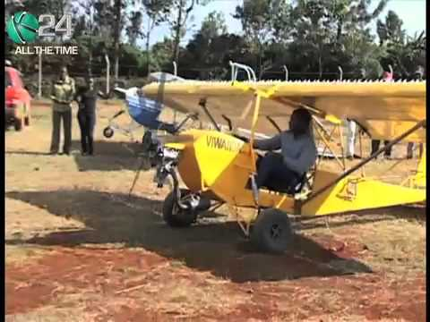 Man's Attempt To Fly Home Made Plane Flops Again