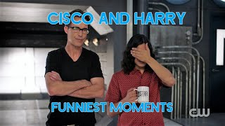Cisco and Harry - Funniest Moments (Part 1) | The Flash
