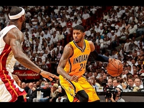 Phantom: Paul George vs. LeBron James Game 2