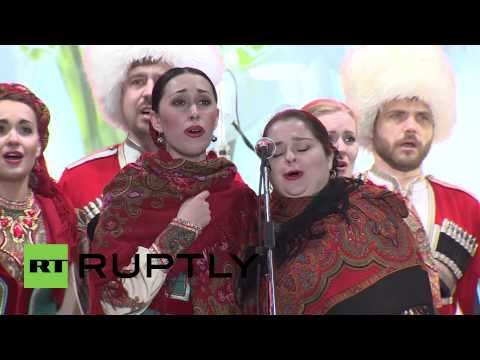Ukraine: Simferopol celebrates referendum results
