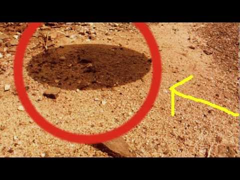 UFO Taped By Mars Curiosity Rover