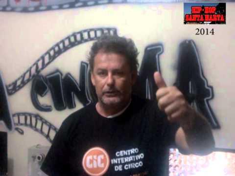 Gerard -  CIC, João Pessoa -PB apoia o HIP-HOP SANTA MARTA - 2014.