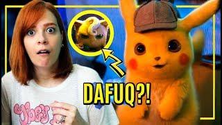 Reagindo ao trailer (bizarro) de DETETIVE PIKACHU! 😱
