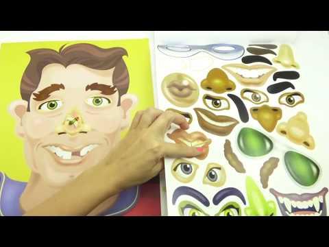 Развивающее видео для детей, клеим, раскрашиваем
