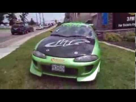 The Fast and The Furious Brian O'Connors's Mitsubishi Eclipse