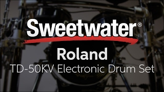 Roland TD-50KV Electronic Drum Set Review