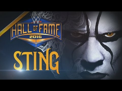 Sting joins the WWE Hall of Fame Class of 2016: Raw, January 11, 2016
