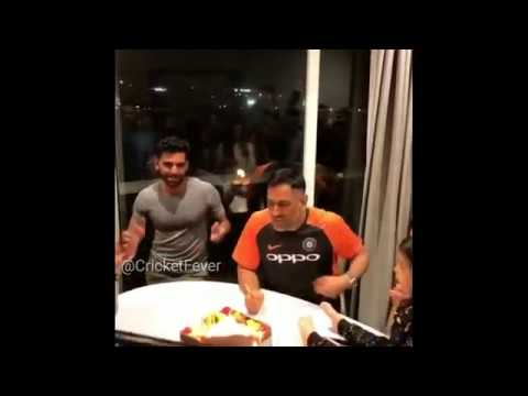 MS Dhoni Birthday Celebration 2018 | Happy Birthday MS Dhoni