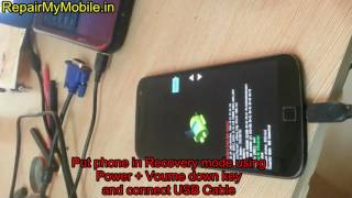 Moto G4 Plus XT1643 Flashing via. USB