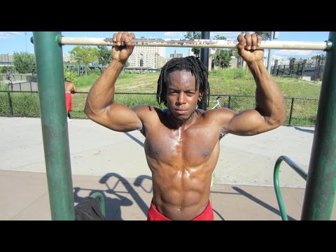 "SHREDDA - Vegan Calisthenics ""Calisthenics Workout Routine"""