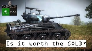 M4A3E8 Sherman Fury - Is it worth the Gold? - World of Tanks Console ( Xbox / PS4 )
