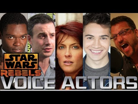 Voice Actors Being Cast for Star Wars Rebels?!