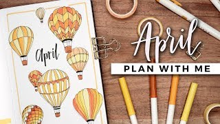 PLAN WITH ME | April 2019 Bullet Journal Setup