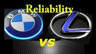 BMW vs LEXUS Reliability BEST CHOICE