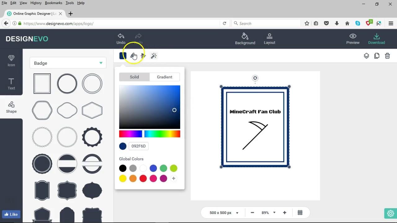 Free logo design download software