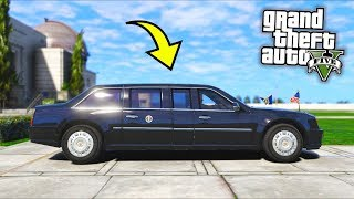 What happens if you steal Mr President's car?! (GTA 5 Mods Gameplay)