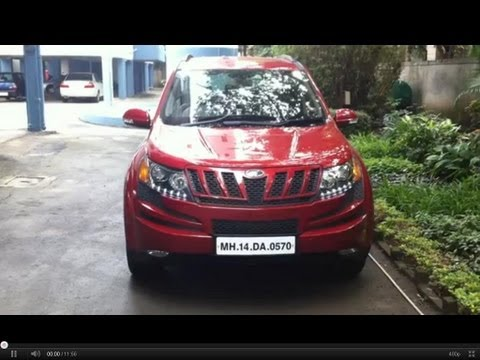 Mahindra XUV500 Walkaround