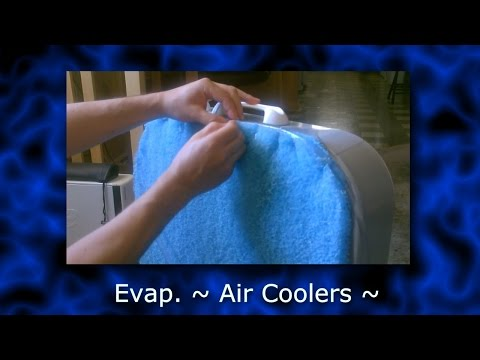 DIY Evap. Air Coolers! (8 types) Homemade Evap. Cooling! Be ready for summer with these!