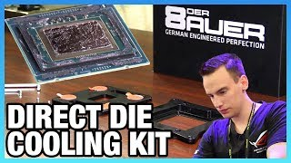 Direct Die CPU Cooling Bracket - No More IHS