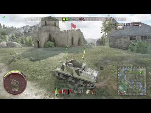 World of Tanks Xbox one Sexton I 5 Kills