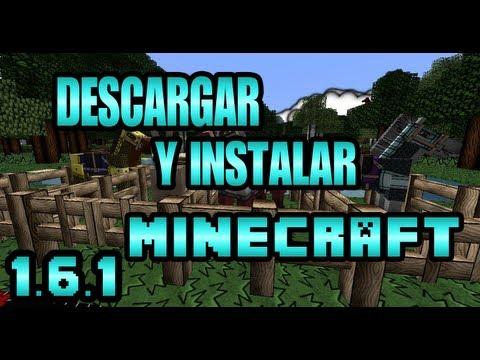 Descargar e Instalar Minecraft 1.6.1 no premium Full Julio actualizable