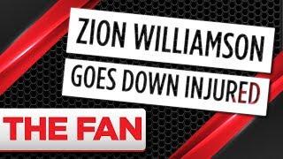 Zion Williamson Injured From Broken Shoe