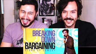 KENNY SEBASTIAN: BREAKING DOWN BARGAINING | Reaction w/ Greg Tamura