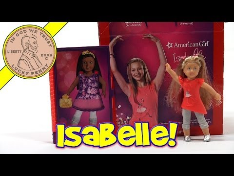 McDonald's American Girl #1 Signature Isabelle #2 Fabric Inspiration Book - 2014 Happy Meal Toys