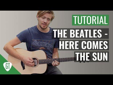 The Beatles - Here Comes The Sun | Gitarren Tutorial Deutsch