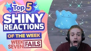 TOP 5 SHINY FAILS OF THE WEEK! Pokemon Let's GO Pikachu and Eevee Shiny Montage! Week 7