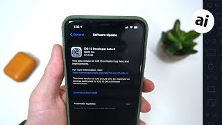 Everything New in iOS 13 Beta 6! Control Center, Folders, & More!