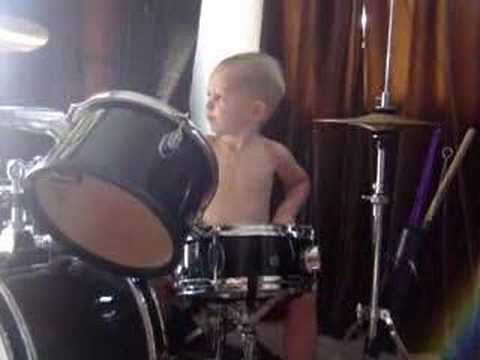 The 3 Year Old Drummer Music Videos
