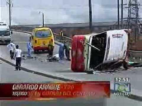Por imprudencia en el transporte público de Bogotá
