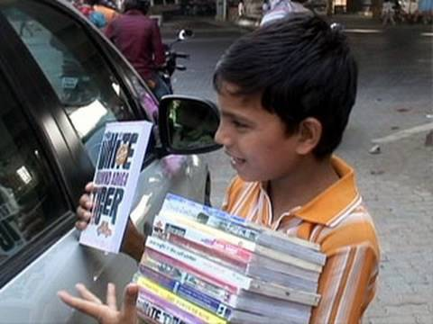 Wahid's Mobile Bookstore - India video