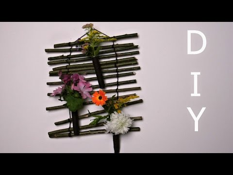 Wanddeko DIY Sommerblumen ❁ Deko Ideen mit Flora-Shop