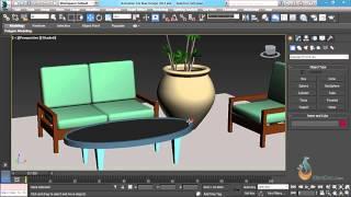 Thực hành 3ds Max - Bài 7: Lệnh Move - di chuyển đối tượng trong 3Dsmax