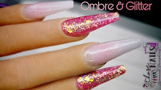 Watch Me | Acrylic Nails Tutorial | OMBRE