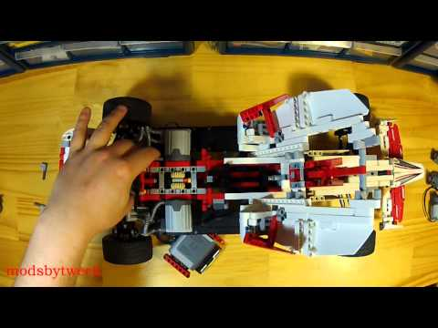 Lego 42000 Grand Prix Racer RC XL motors