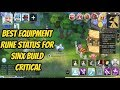 Assassin Build Critical Katar Best Equipment Rune and Status Ragnarok Mobile