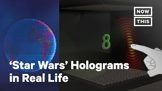'Star Wars' Holograms Made In Real Life With Sound Waves | NowThis