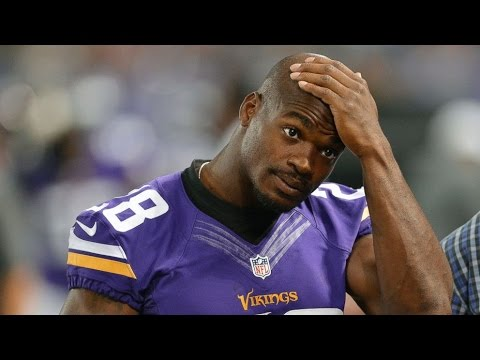 Changed their Minds: Adrian Peterson Now Asked to Leave the Vikings