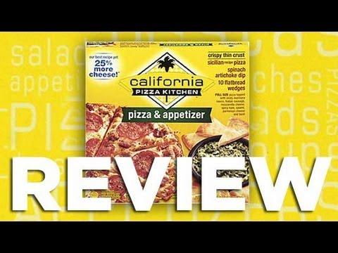 California Pizza Kitchen Pizza Appetizer Video Review: Freezerburns (Ep484)