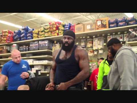 Kimbo Slice Vs. Brian Green Face off Image 1